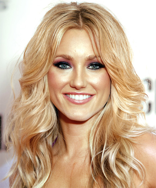 Whitney Duncan Long Wavy Formal   Hairstyle