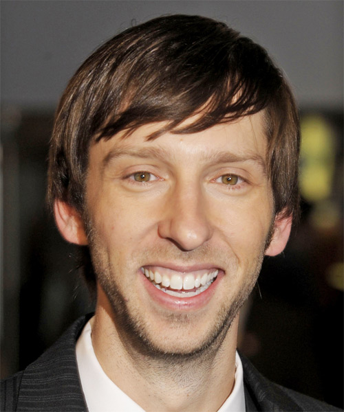 Joel David Moore Medium Straight Casual   Hairstyle