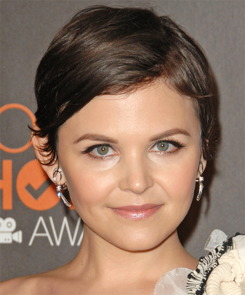 Ginnfer Goodwin Short Straight Formal   Hairstyle