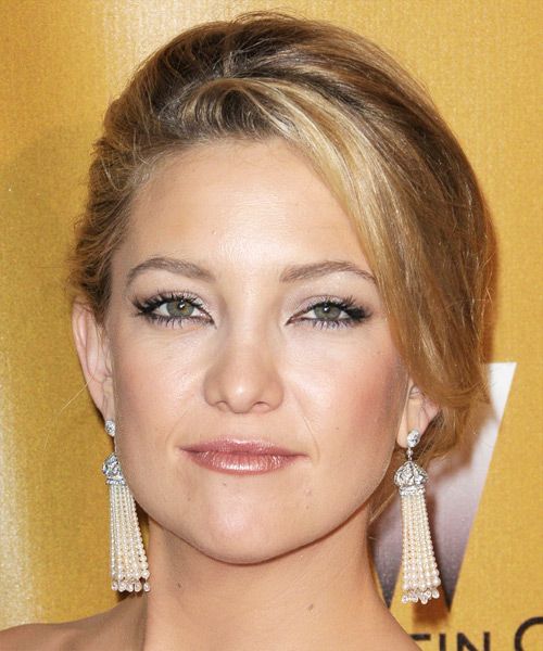 Kate Hudson Updo Long Curly Formal  Updo Hairstyle