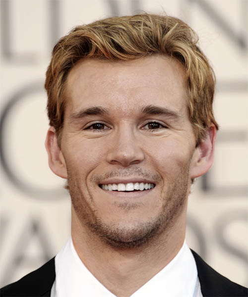 Ryan Kwanten Short Wavy Casual   Hairstyle