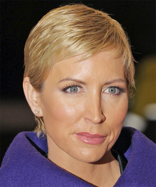 Heather Mills Short Straight Casual   Hairstyle