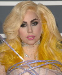 Lady GaGa Long Wavy Alternative    Hairstyle