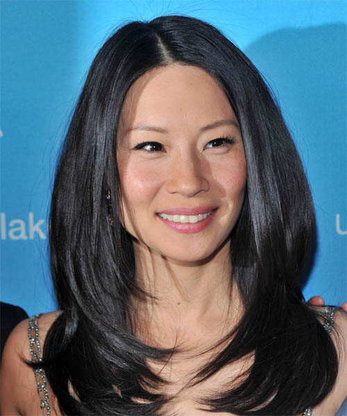 Lucy Liu Long Straight     Hairstyle
