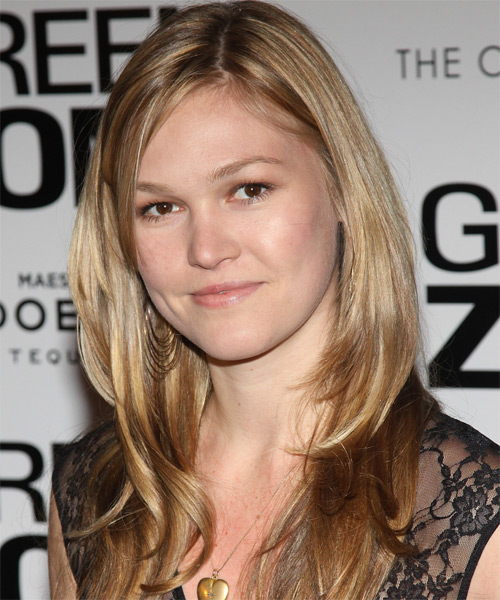 Julia Stiles Long Straight Casual   Hairstyle