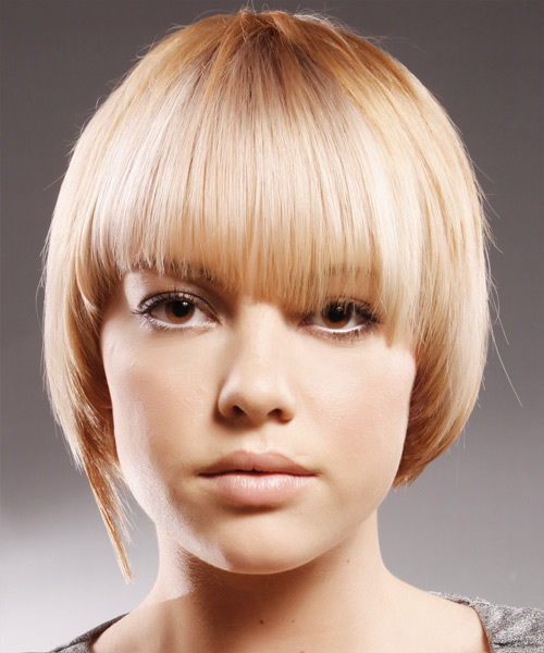 Medium Straight Alternative   Hairstyle