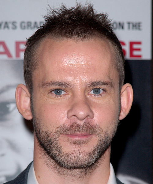 Dominic Monaghan Casual Short Straight Hairstyle