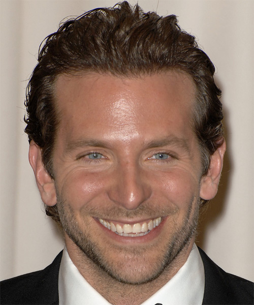 Bradley Cooper Short Wavy Formal    Hairstyle