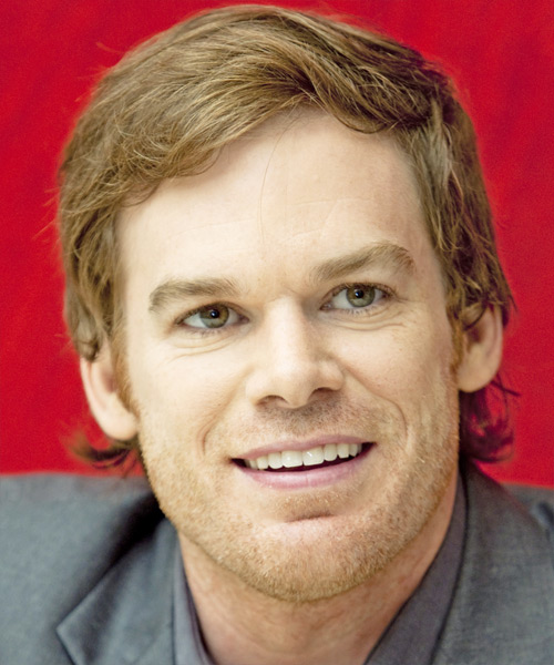 Micheal C Hall Short Straight Formal   Hairstyle