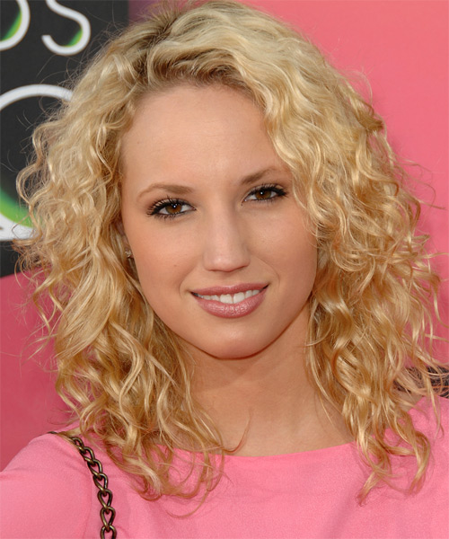 Molly Mccook Long Curly Casual Hairstyle