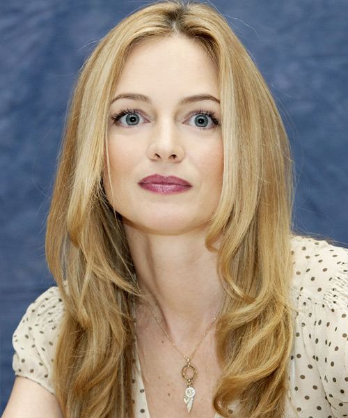 Heather Graham Long Wavy Formal    Hairstyle