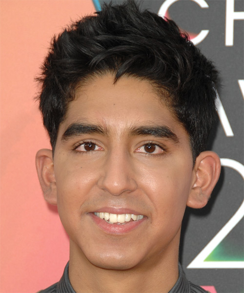 Dev Patel Short Straight Formal   Hairstyle