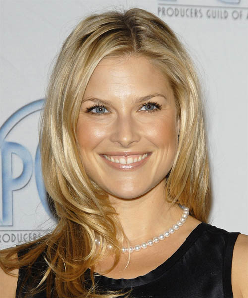 Ali Larter Long Straight Casual   Hairstyle   - Light Blonde