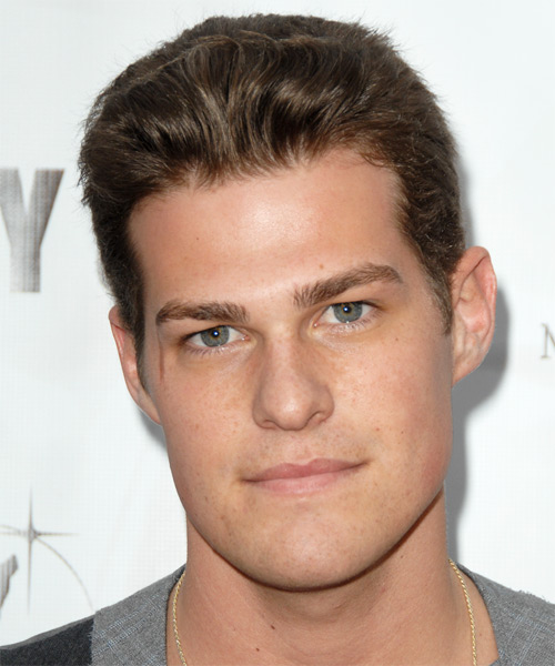 Greg Finley Short Straight Formal   Hairstyle