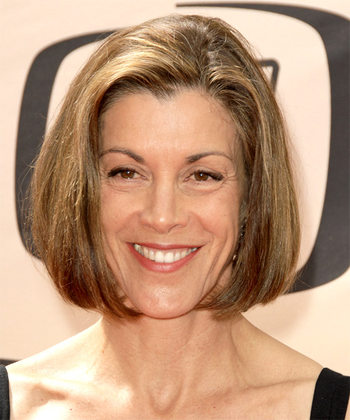 Wendie Malick Medium Straight Formal   Hairstyle