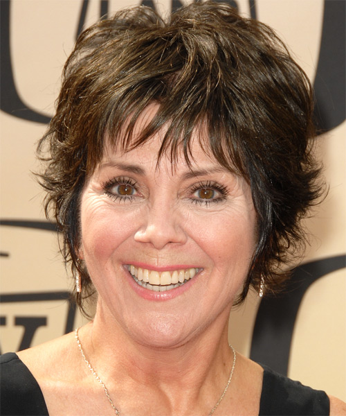 Joyce DeWitt Short Straight Casual   Hairstyle