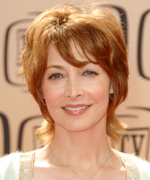 Sharon Lawrence Short Straight Casual    Hairstyle