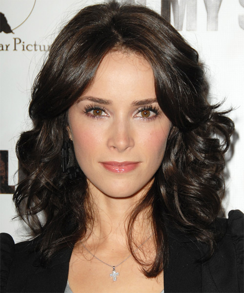 Abigail Spencer Medium Wavy Formal   Hairstyle