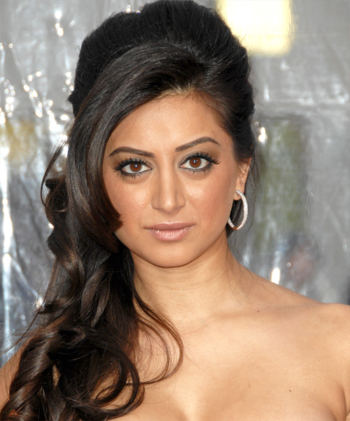 Noureen DeWulf Updo Long Curly Formal  Updo Hairstyle