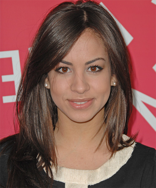 Gabriella Rodriguez Long Straight Casual   Hairstyle