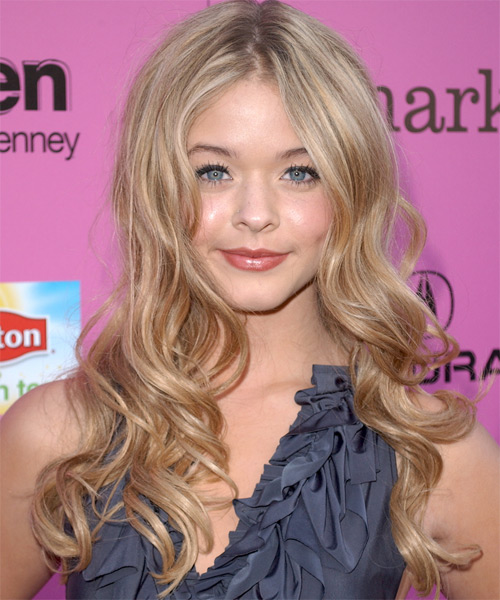 Sasha Pieterse Long Wavy Formal   Hairstyle   - Medium Blonde (Copper)