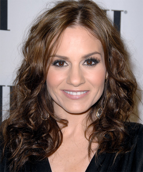 Kara DioGuardi Long Wavy Casual   Hairstyle