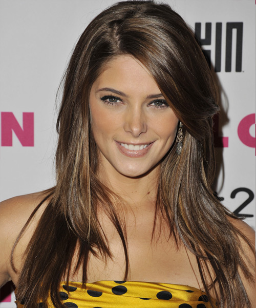 Ashley Greene Long Straight Casual   Hairstyle