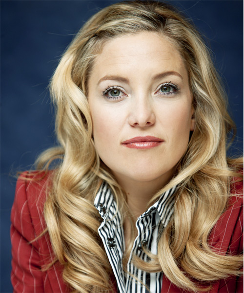 Kate Hudson Long Wavy Casual   Hairstyle