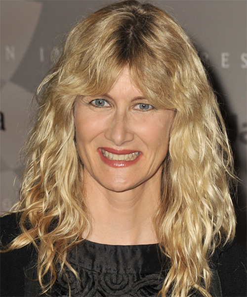 Laura Dern Long Wavy Casual   Hairstyle