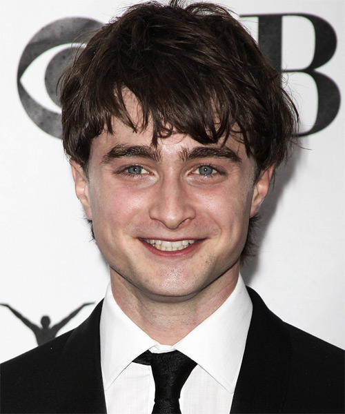 Daniel Radcliffe Medium Straight     Hairstyle