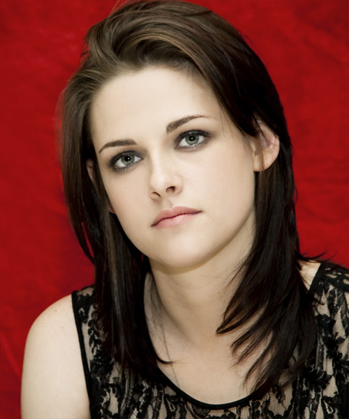 Kristen Stewart Long Straight Casual   Hairstyle