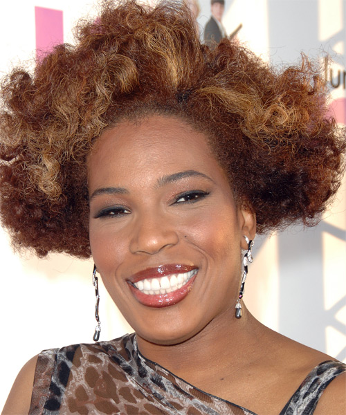 Macy Gray Short Curly Alternative   Hairstyle