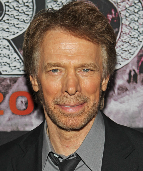 Jerry Bruckheimer Short Straight Formal   Hairstyle