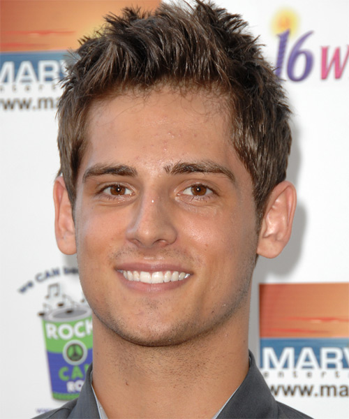Jean-Luc Bilodeau Short Straight Casual   Hairstyle