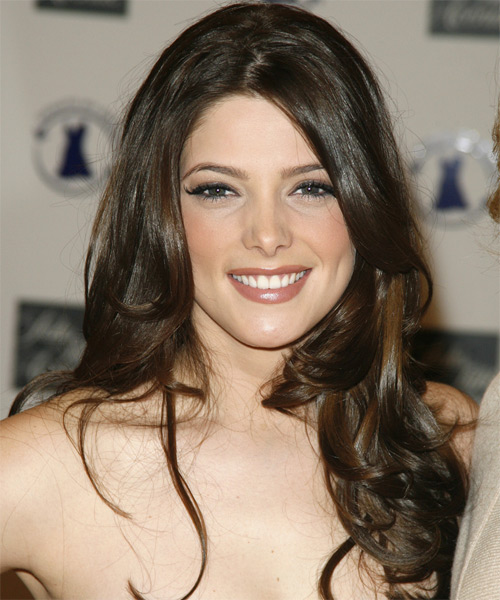 Ashley Greene Long Wavy Casual   Hairstyle