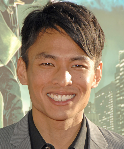 Gregory Woo Short Straight Casual   Hairstyle