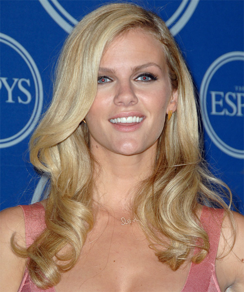 Brooklyn Decker Long Wavy Formal   Hairstyle
