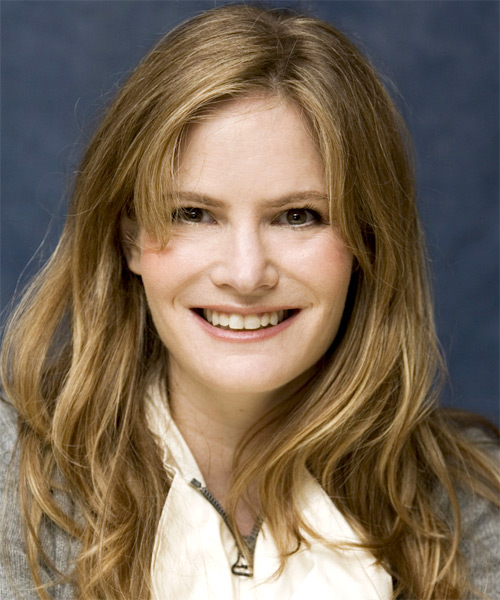 Jennifer Jason Leigh Long Straight Casual   Hairstyle