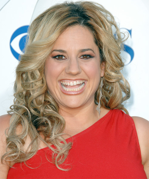 Marissa Jaret Winokur Long Curly Formal   Hairstyle
