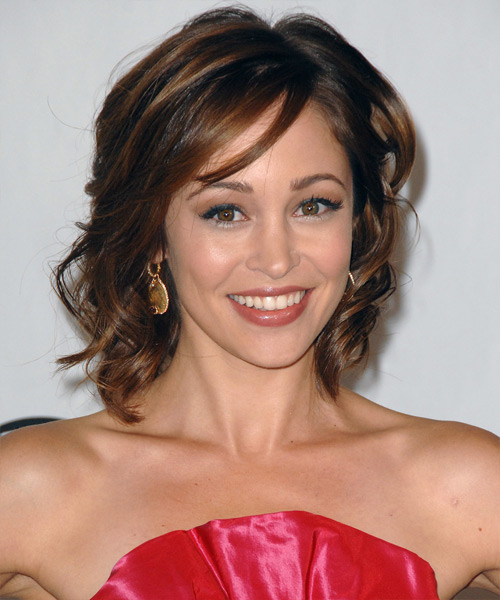 Autumn Reeser Medium Wavy Formal   Hairstyle