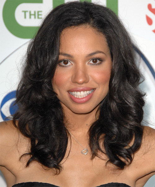 Jurnee Smollett Long Curly Casual    Hairstyle