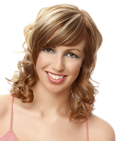 hair styles for asian medium curly formal hairstyle 2498