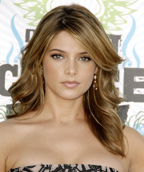 Ashley Greene Long Wavy Formal    Hairstyle