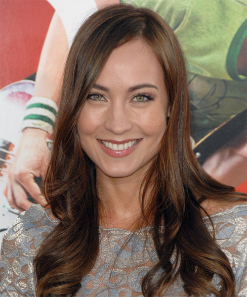 Courtney Ford Long Straight Formal   Hairstyle