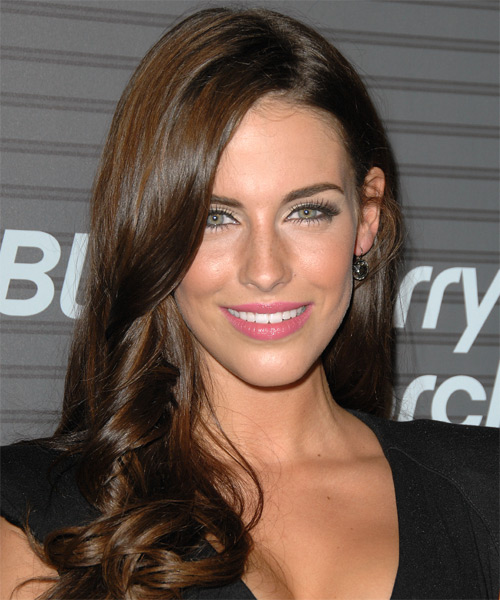 Jessica Lowndes Long Wavy Formal   Hairstyle