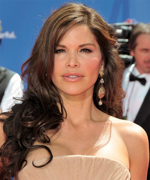 Lauren Sanchez Long Wavy Formal   Hairstyle