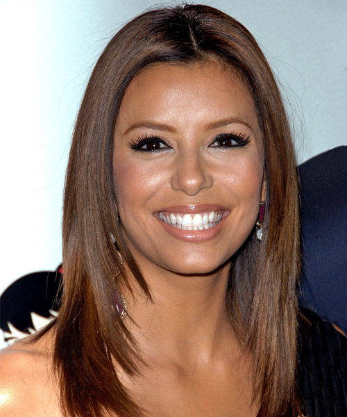 Eva Longoria Parker Long Straight Formal   Hairstyle