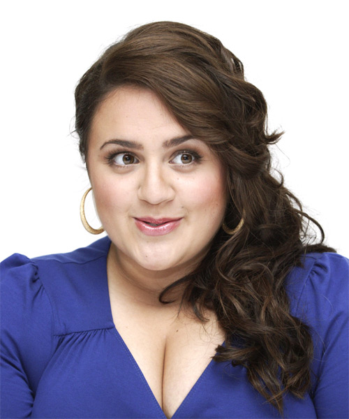 Nikki Blonsky Long Wavy Formal   Hairstyle