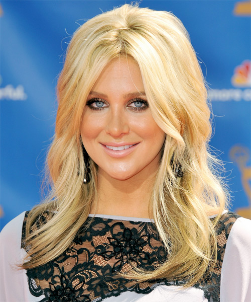 Stephanie Pratt Long Wavy Formal   Hairstyle