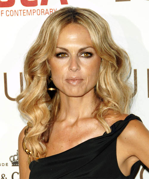 Rachel Zoe Long Wavy Casual   Hairstyle